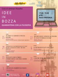 IDEE IN BOZZA - Locandina